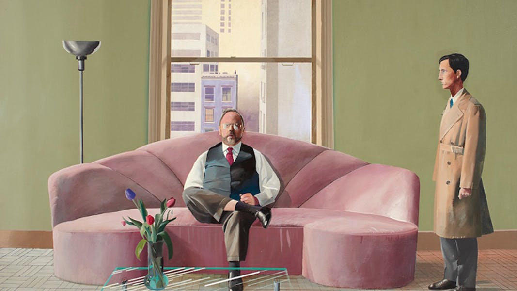 A Major David Hockney Painting Sells For Nearly $50 Million