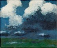 """Emil Nolde (1867-1956) """"Weiße Wolken"""", 1926 Estimation: 1 200 000-1 600 000 EUR"""