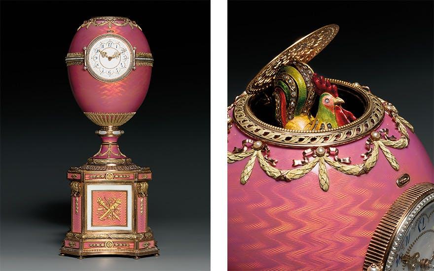 The Rothschild Fabergé egg. Image: Christie's