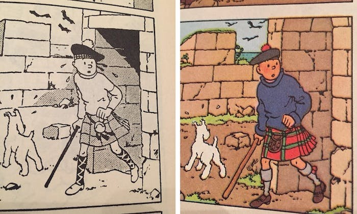 Tintin T7 - L_Ile Noire - C - Edition alternée (1943) (2)