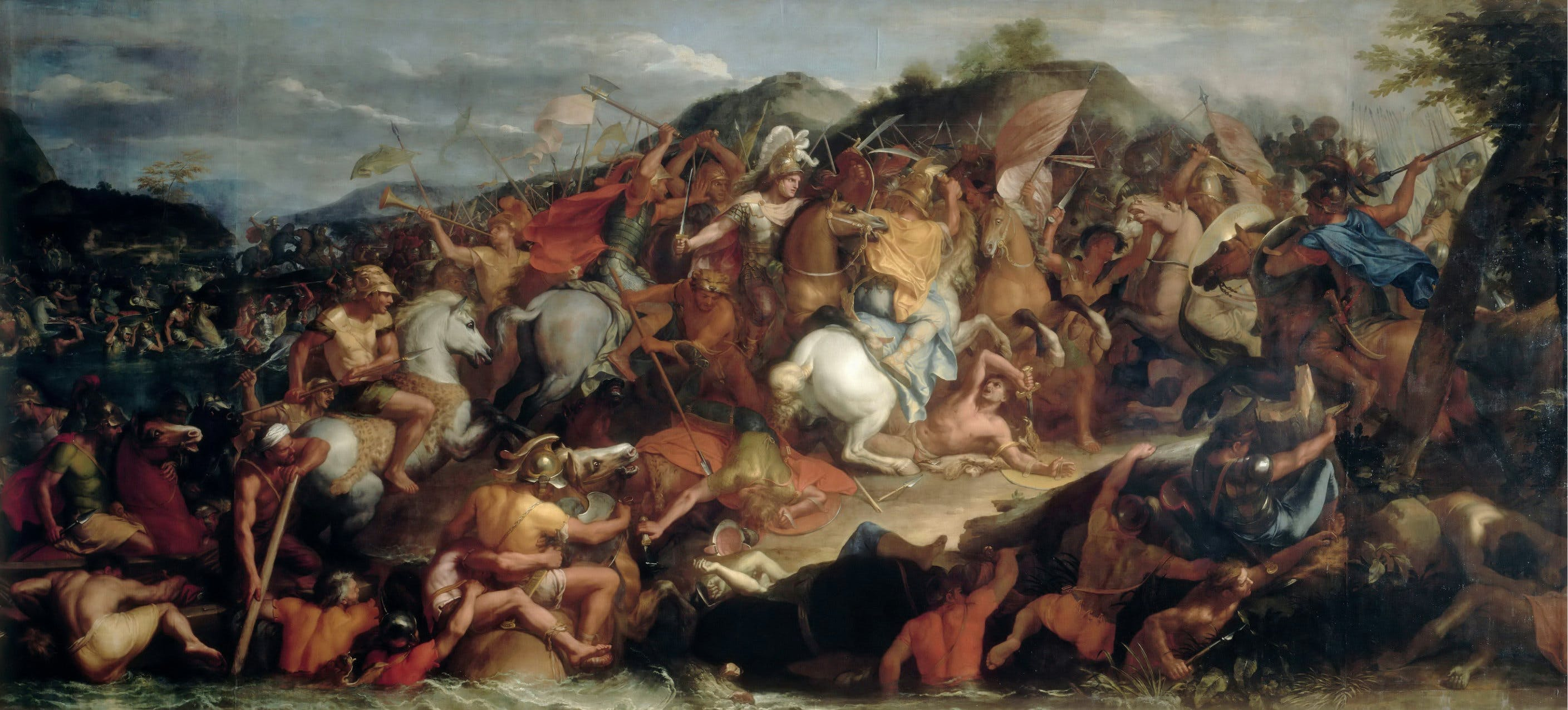 The Battle of the Granicus Riverby Charles Le Brun, 1665. Image: Wikipedia