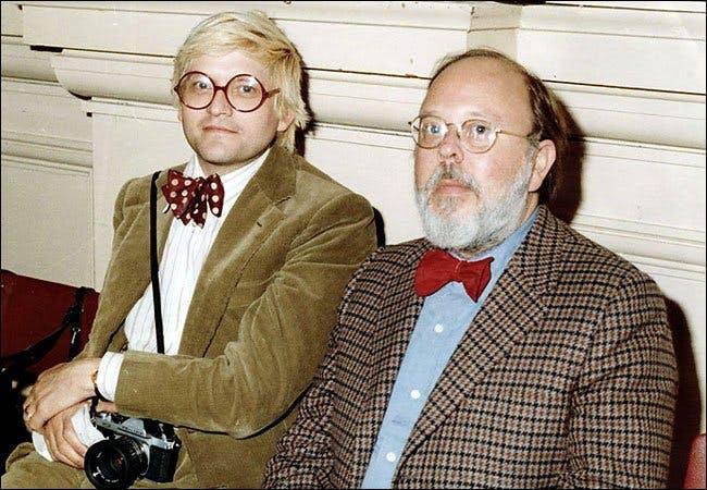 David Hockney and Henry Geldzahler. Image Palm Pictures