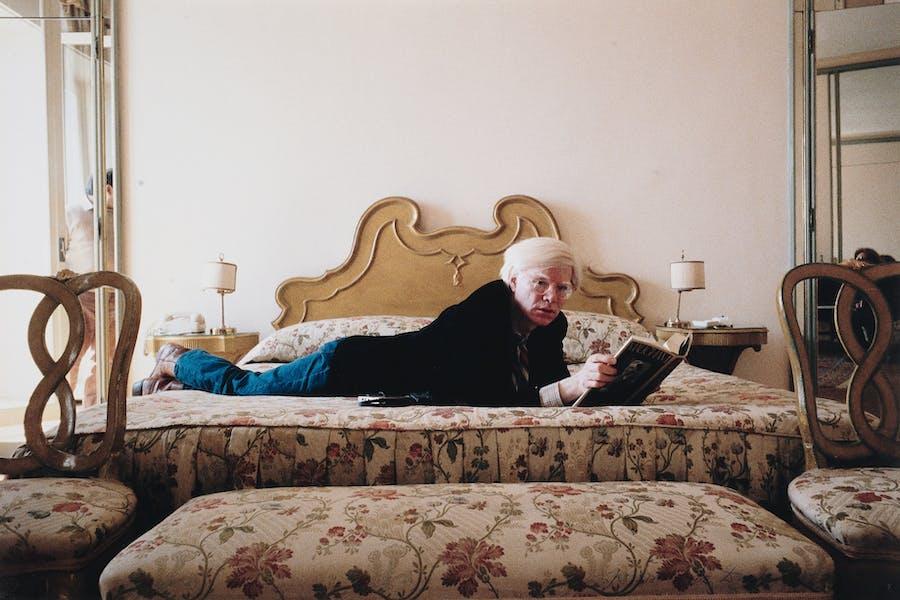Nino Lo Duca, Andy Warhol, firma sul retro. Foto: Sotheby's
