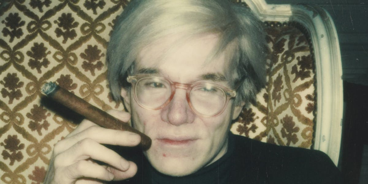 Andy Warhol, Self-Portrait with Cigar, 1970. Foto: Christie's