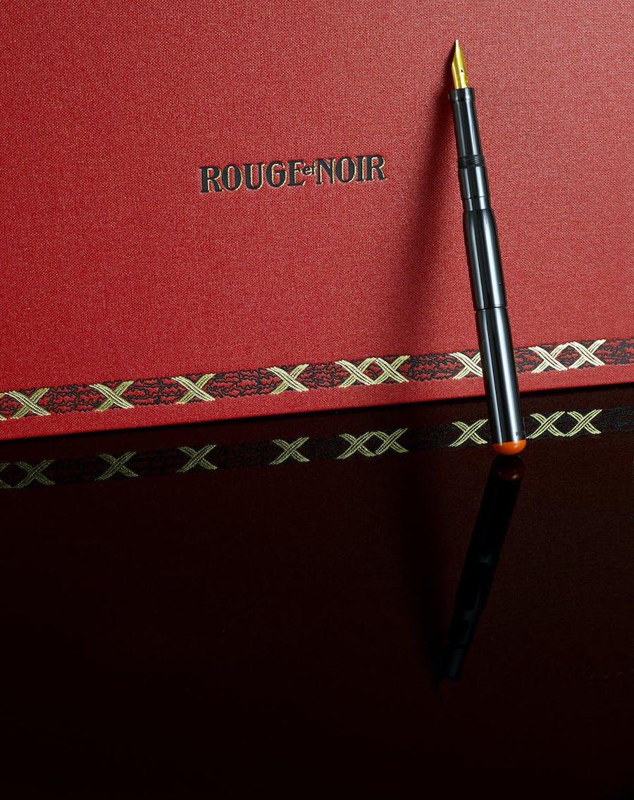 Salon Rouge Blanc Noir montblanc: the art of writing | barnebys magazine