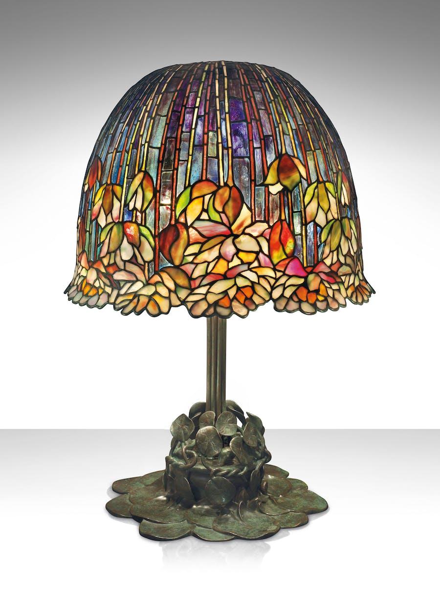 Storia Delle Lampade Tiffany Design Illuminato Dell Art Nouveau Barnebys Magazine