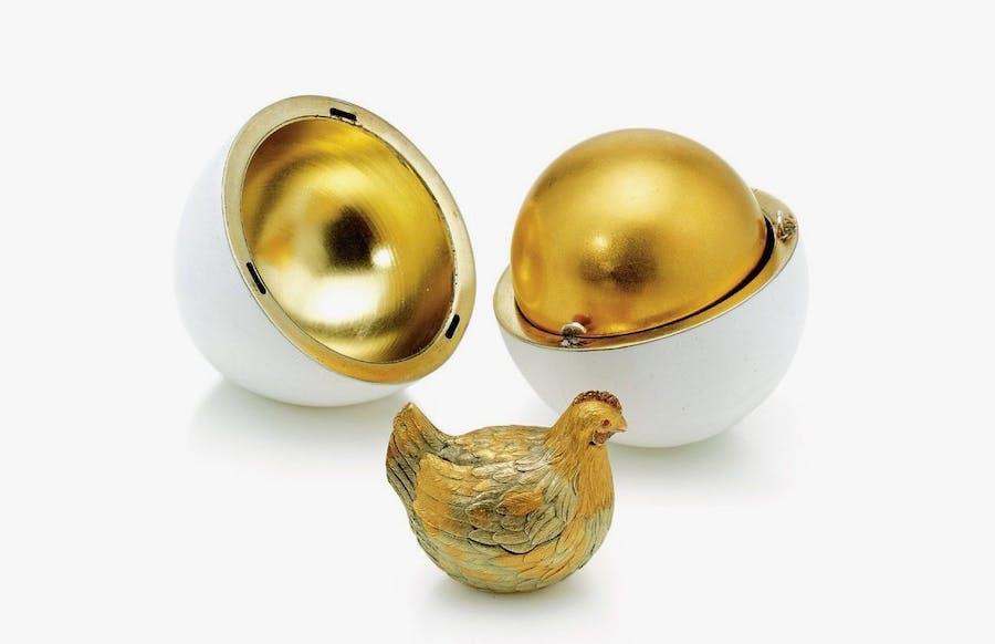 The Hen Egg, 1885. Image: Mental Floss