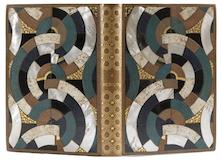 À Rebours, svensk titel Mot strömmen dekorerad med 220 stycken färgetsningar av Auguste Lepère. Foto via Aguttes.