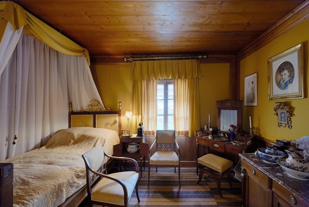 Emmas sovrum på Zorngården. Foto Åke E:son Lindman