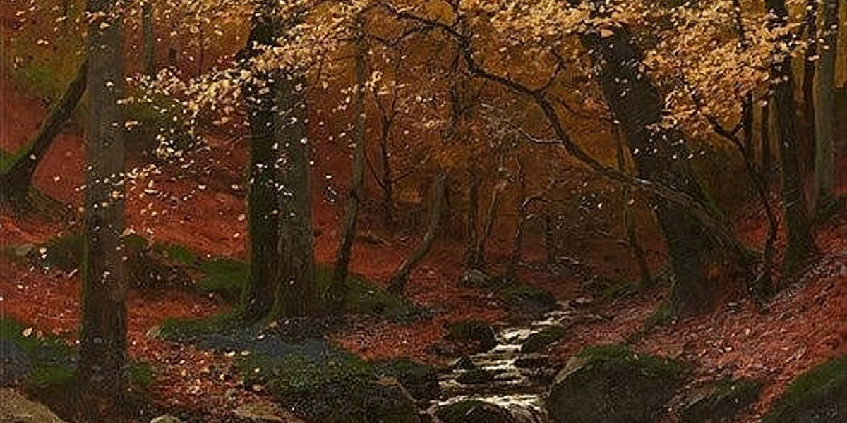 foto de Cinq peintures qui célèbrent l'automne | Magazine Barnebys