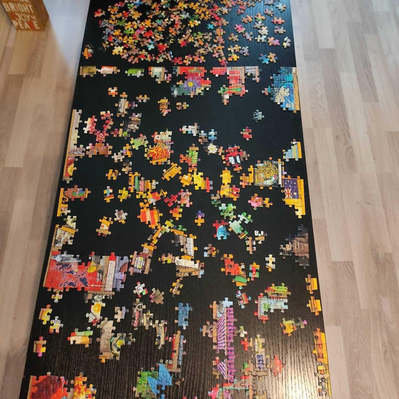 My New Year's eve 1000-piece challenge
