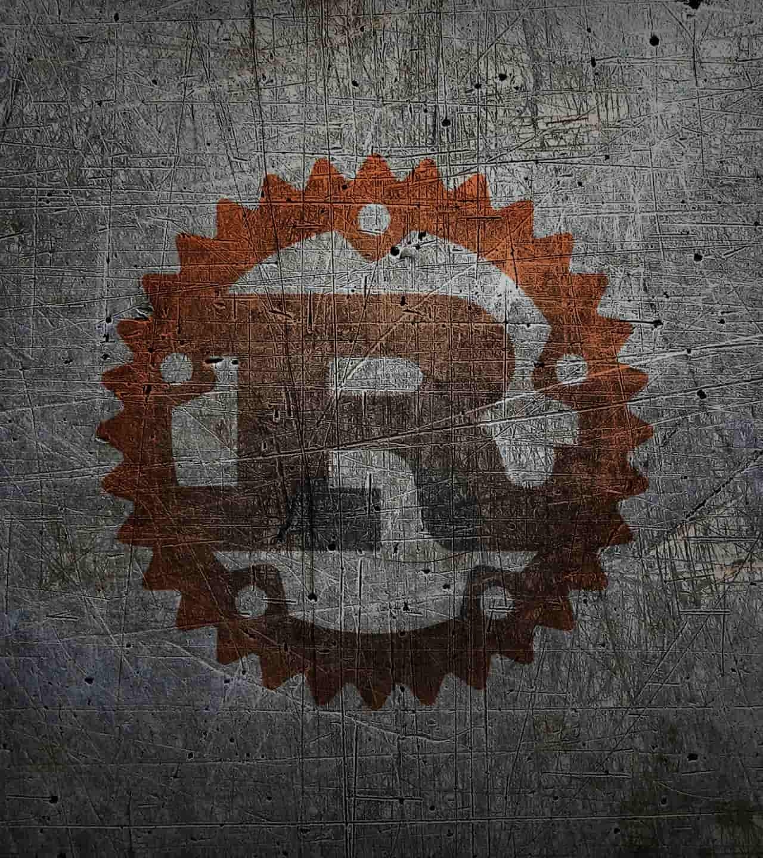 Rust Programming Language logo - Hero