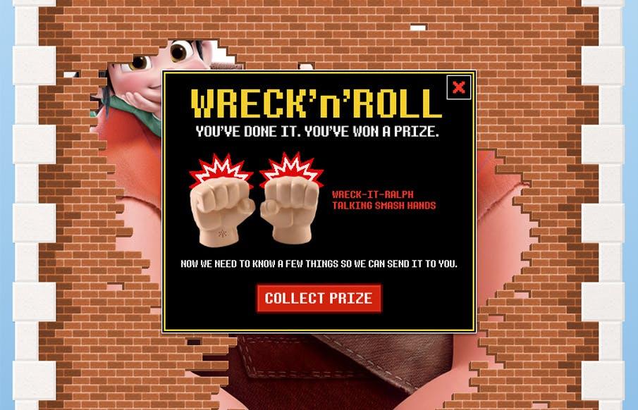 Wreck-It Ralph Win