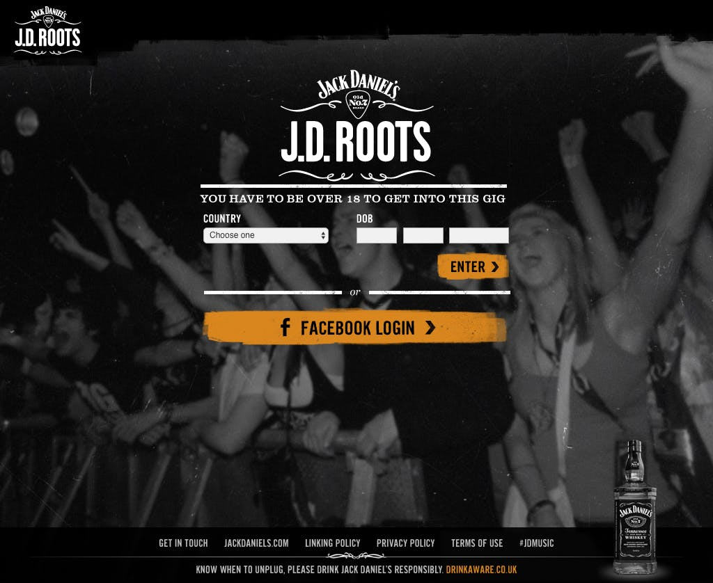 JD Roots Age Gate 1024