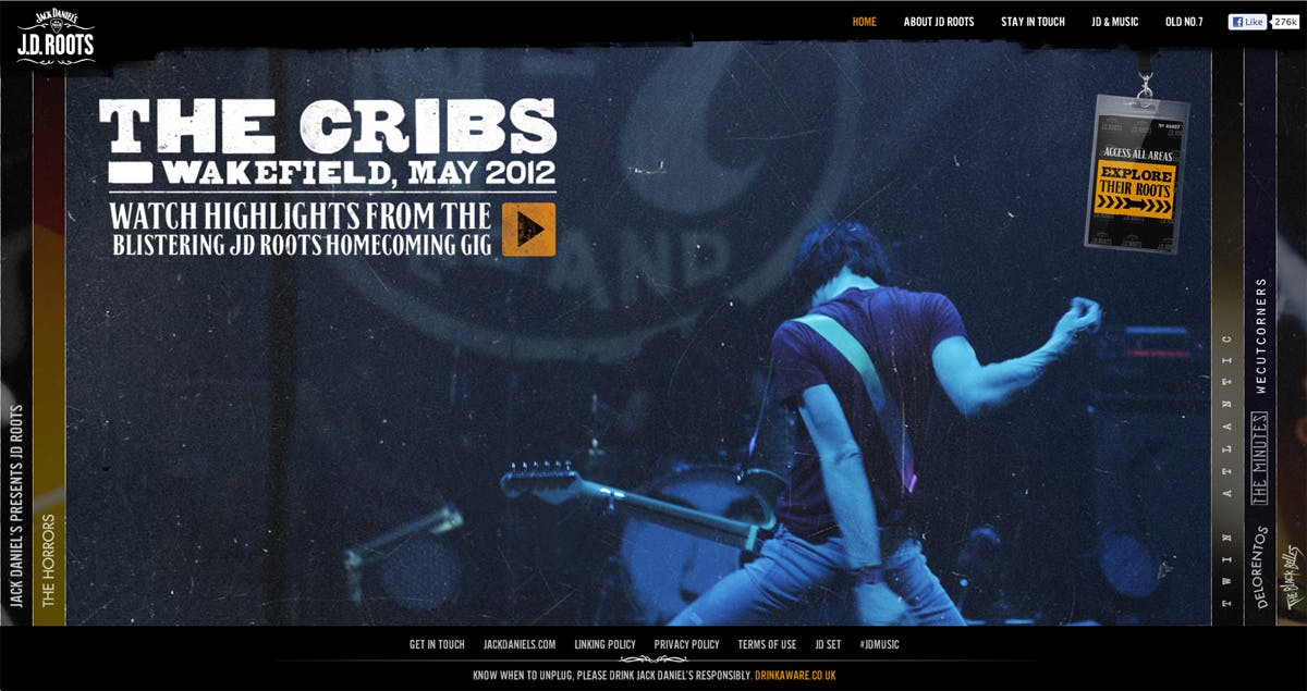 JD Roots The Cribs