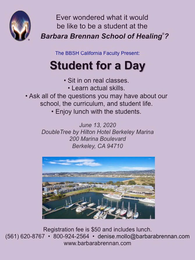 Student for a Day, June 13, Berkeley, CA
