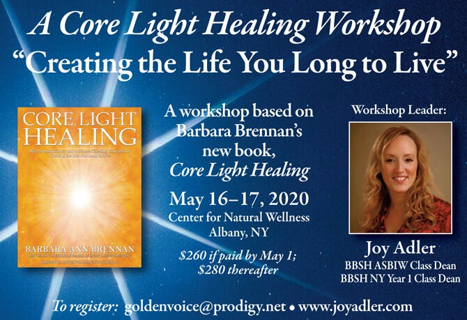 Core Light Healing Workshop in Albany, New York