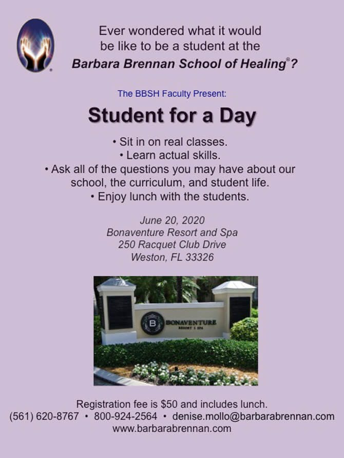 Student for a Day, June 20, Weston, FL