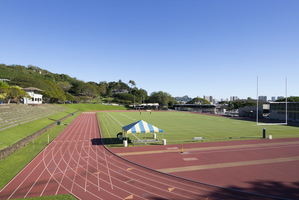 Punahou's track & field