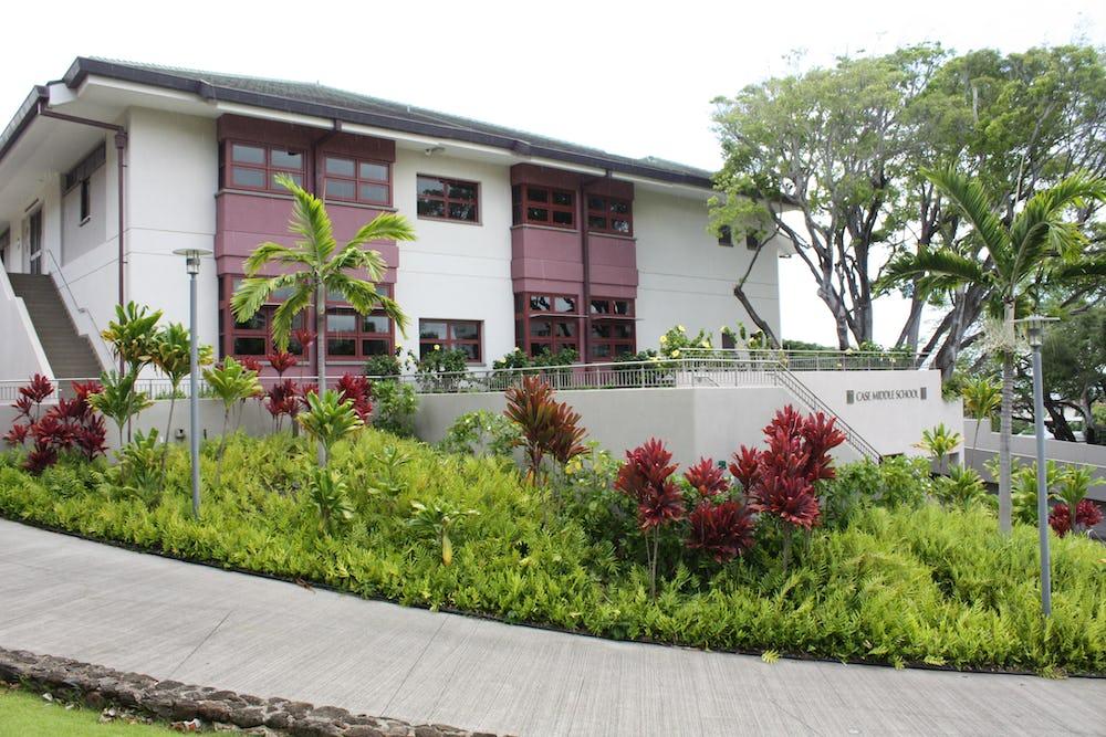 Case Middle School building