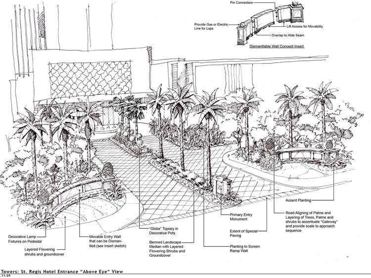 Resort sketch