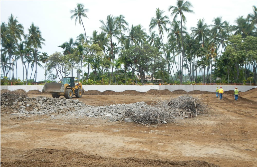 More than 200,000 tons of construction material was diverted Hawai'i Sanitary Landfill away from the West