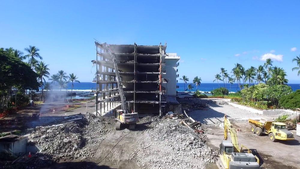 High-reach demolition