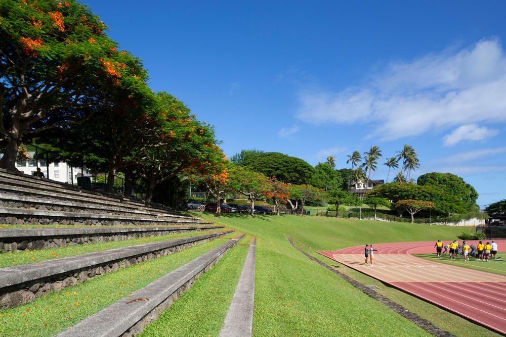 Punahou's track and field