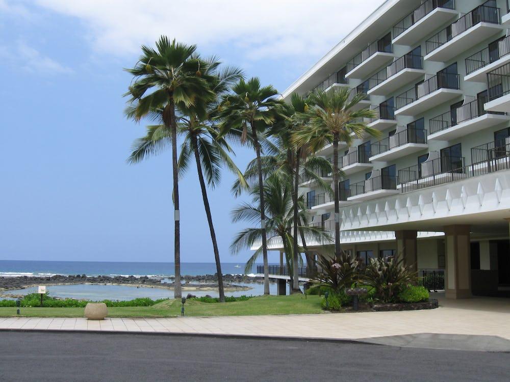 View of Resort before demolition