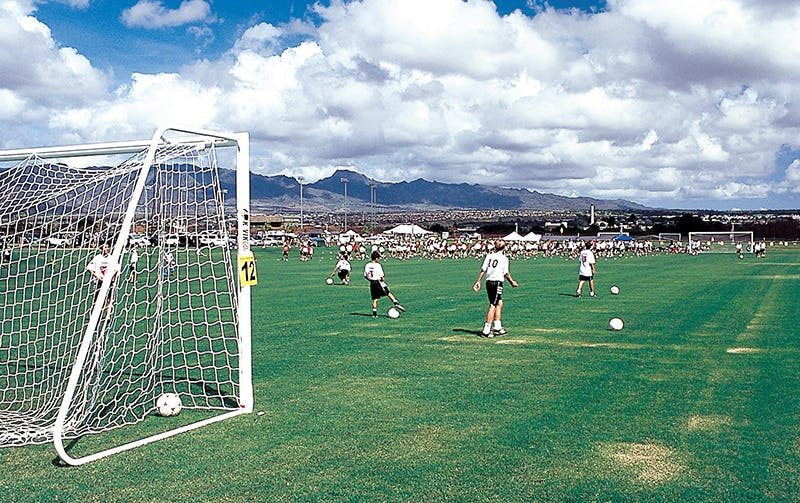 One of 23 soccer fields