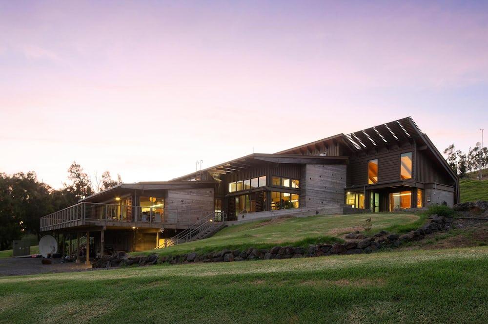 Hawaii Preparatory Academy Energy Lab building..