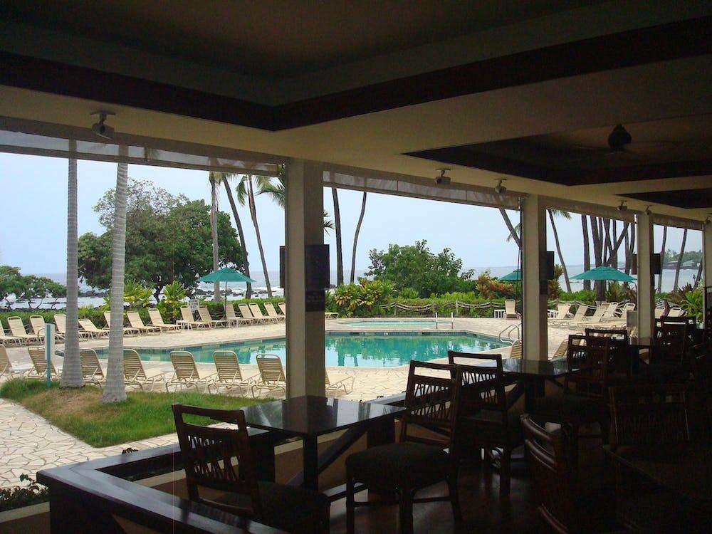 View of Resort's pool.