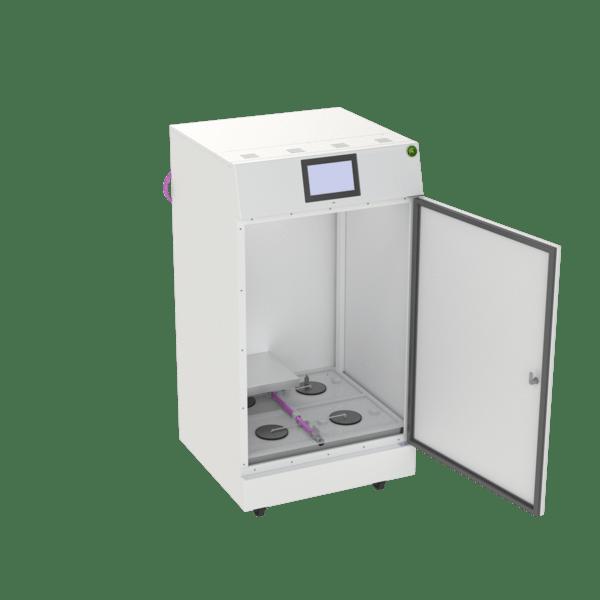 The RoomMate Pro™ grow box with door open