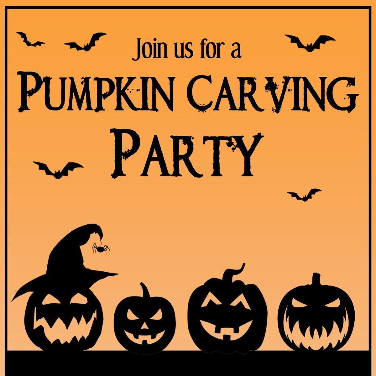 Pumpkin Carving Party 2021