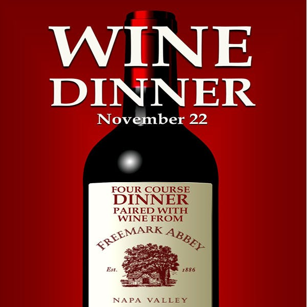 Wine Dinner November 22