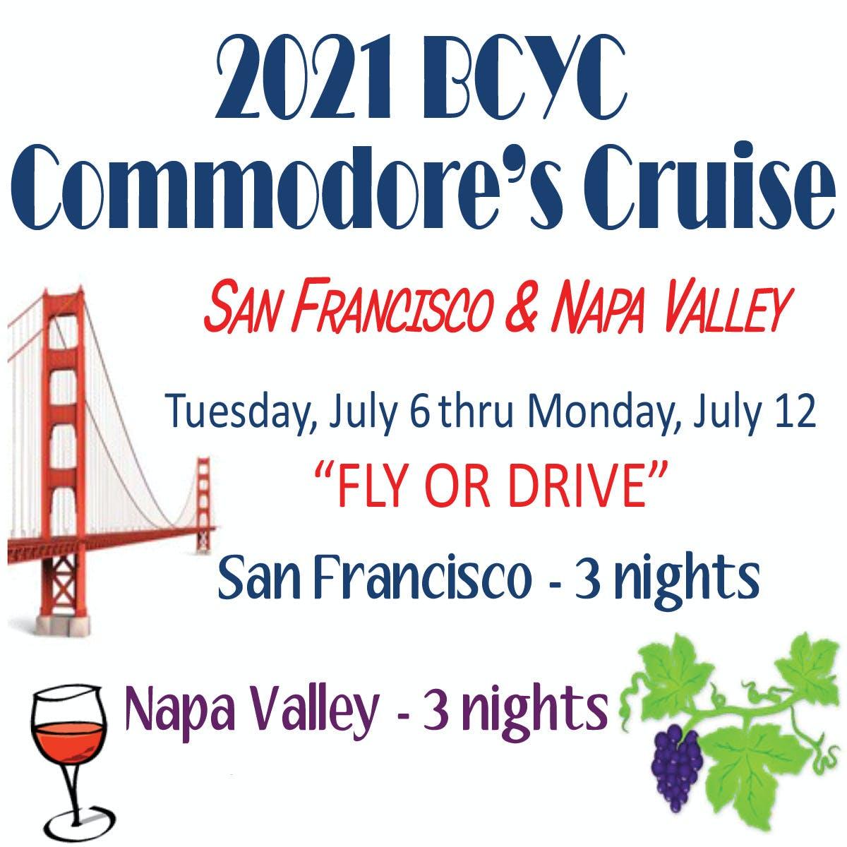 2021 Commodore Cruise