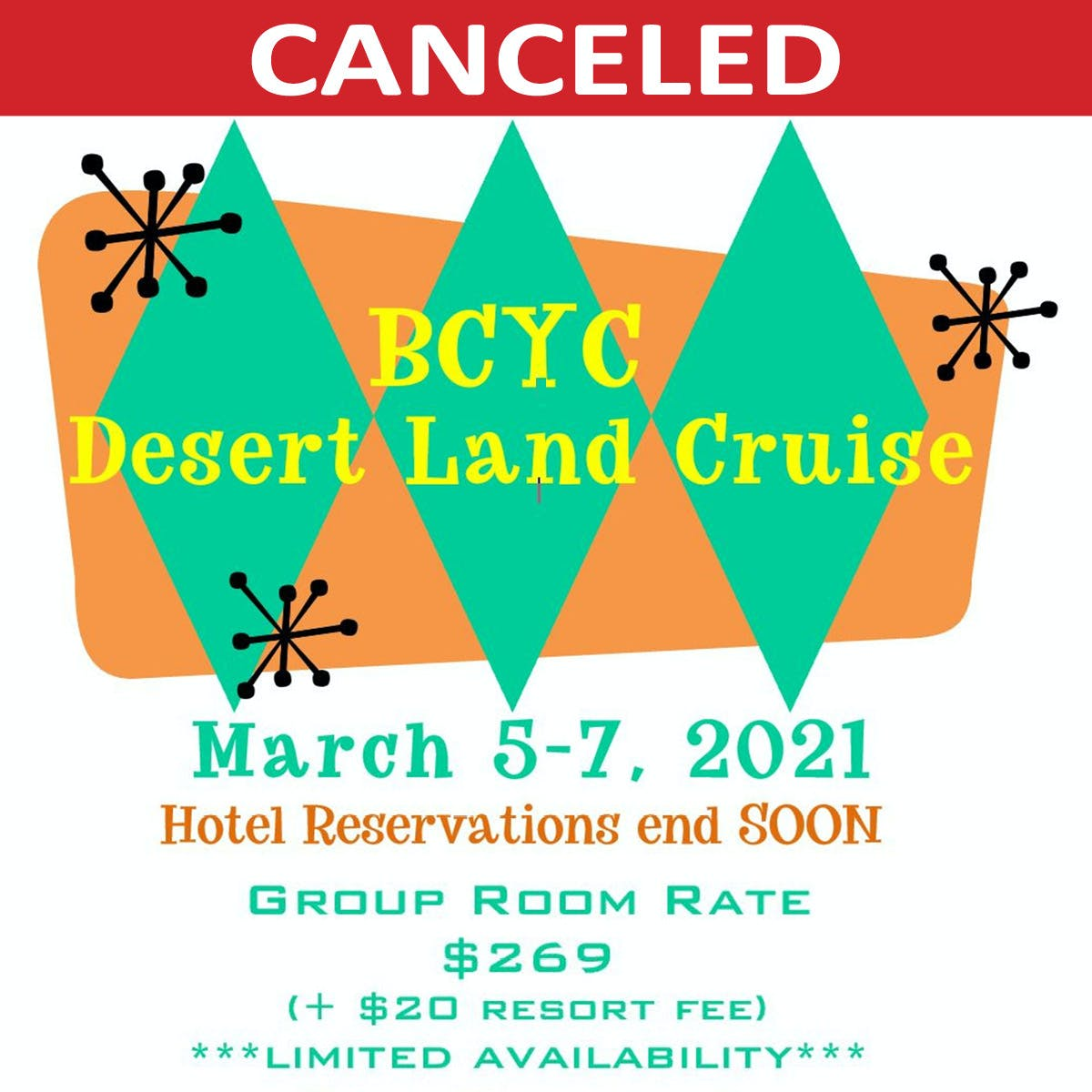 Desert Land Cruise 2021