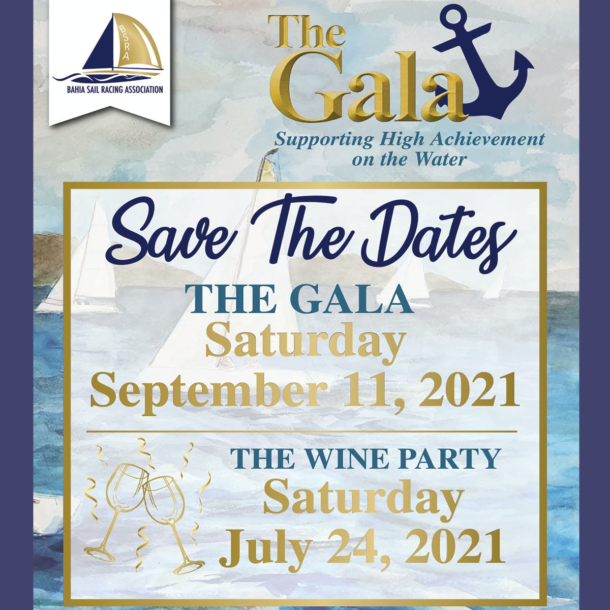 Save the Dates - The Gala
