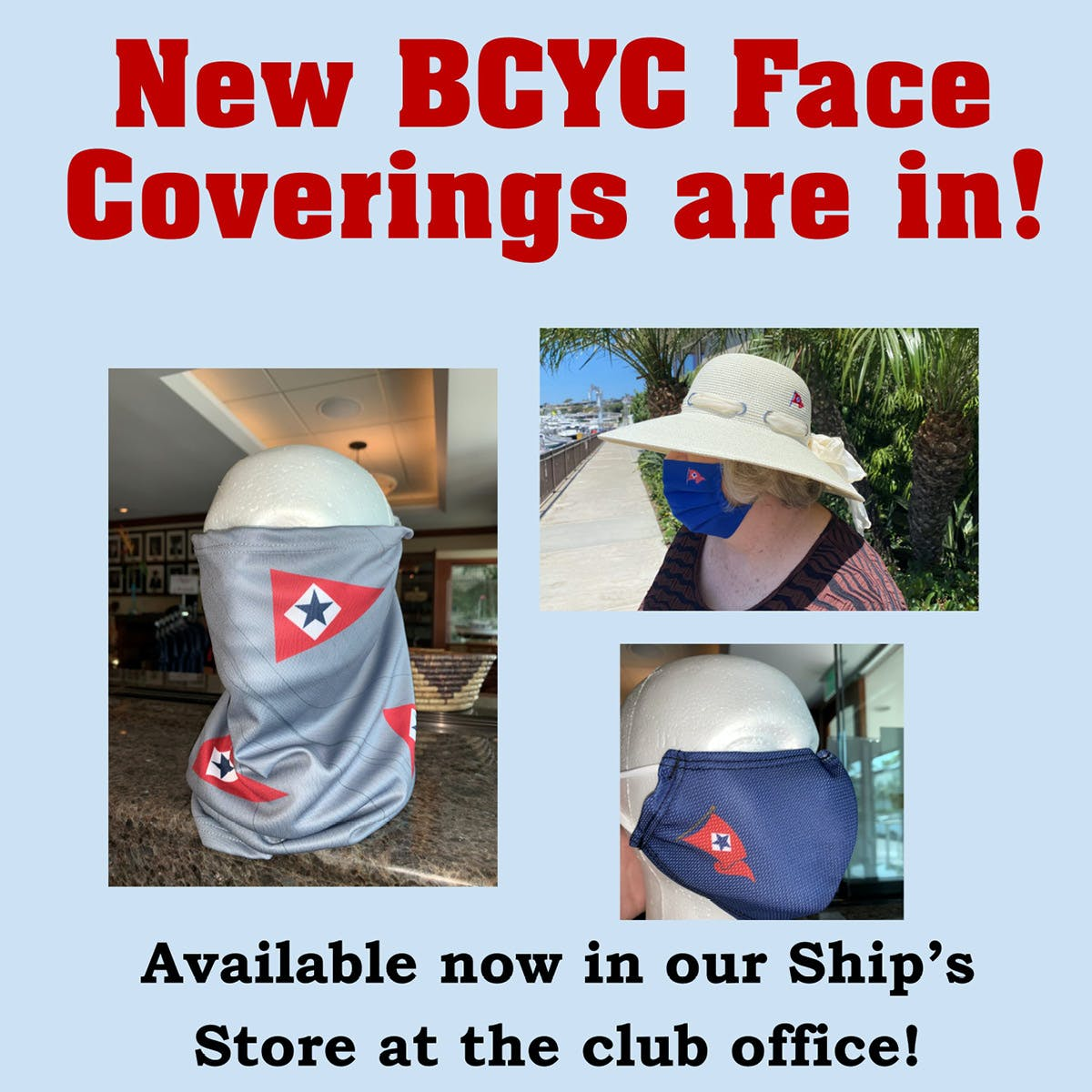 BCYC NEW Face Coverings