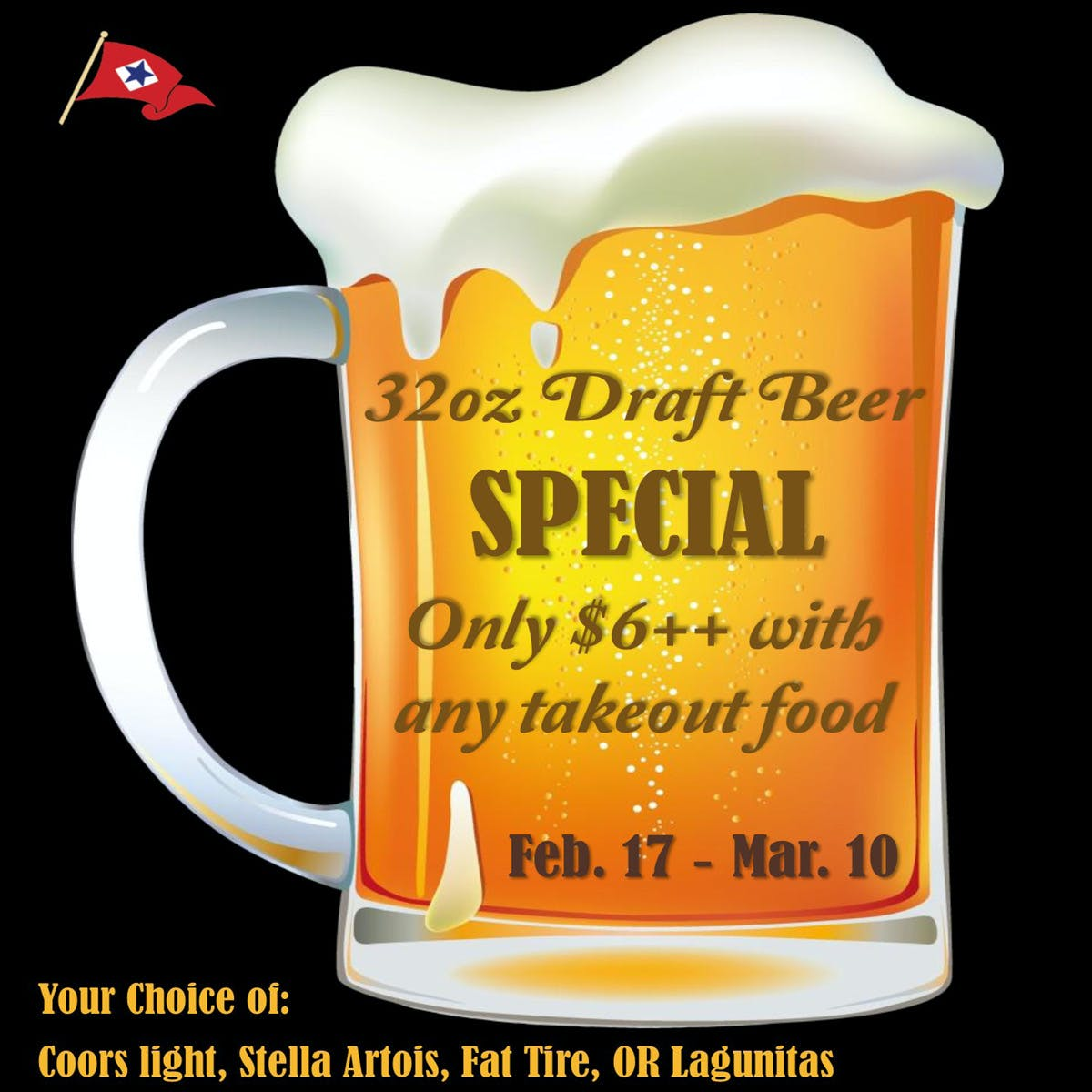 Draft Beer Special
