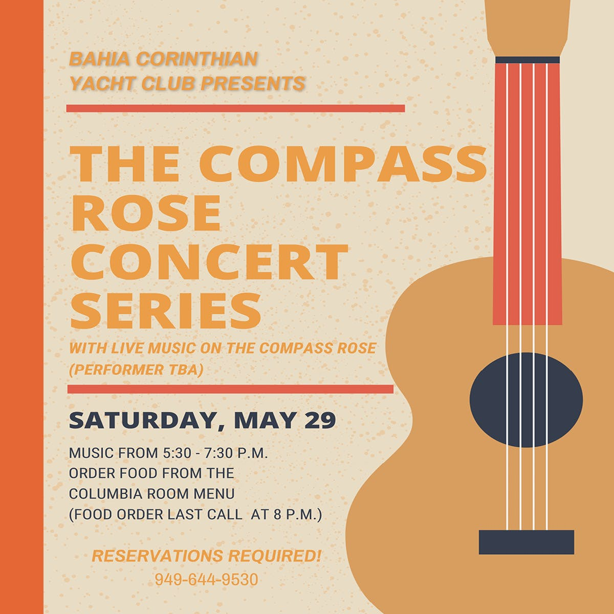 Compass Rose Concert Series May 29