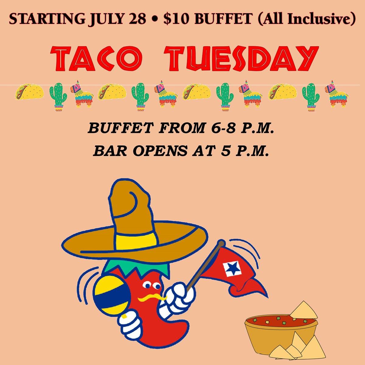 Taco Tuesday Buffet