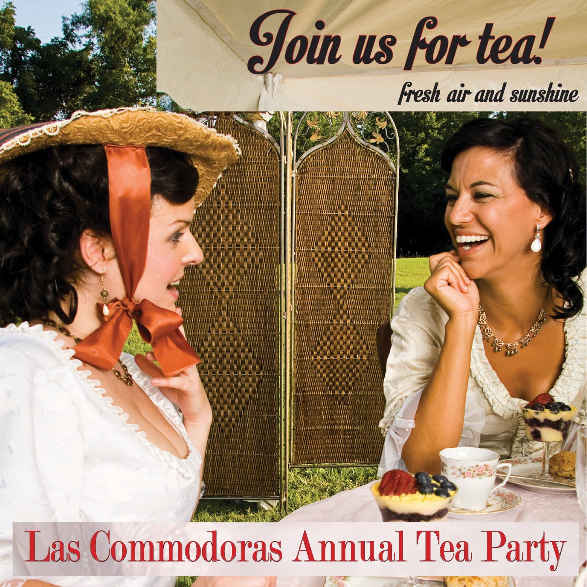 Las Commodoras Annual Tea