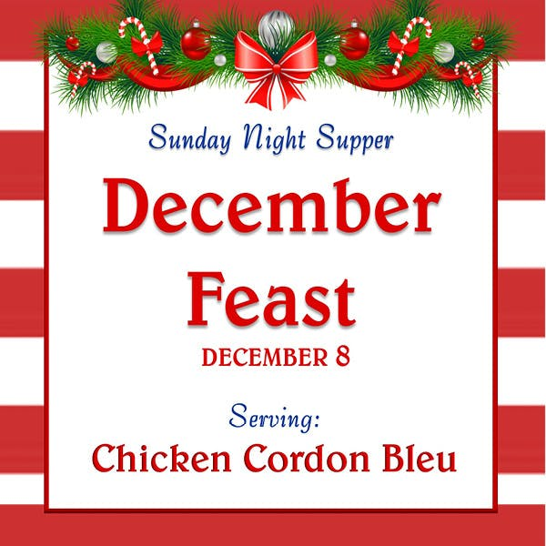 Sunday Supper December 8