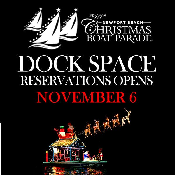 Boat Parade Dock Space Reservations