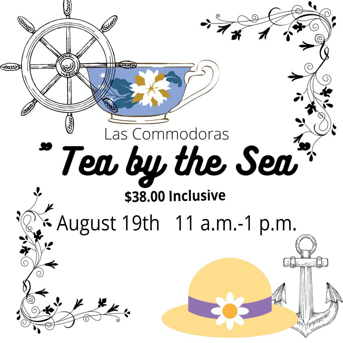Las Commodoras Tea by the Sea