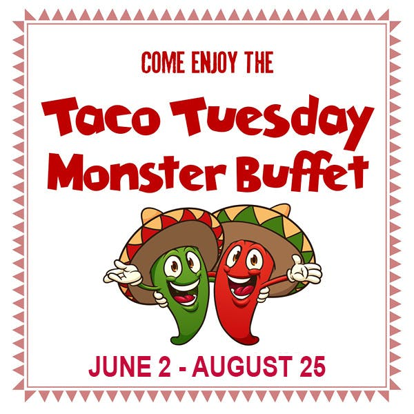 Taco Tuesday Monster Buffet