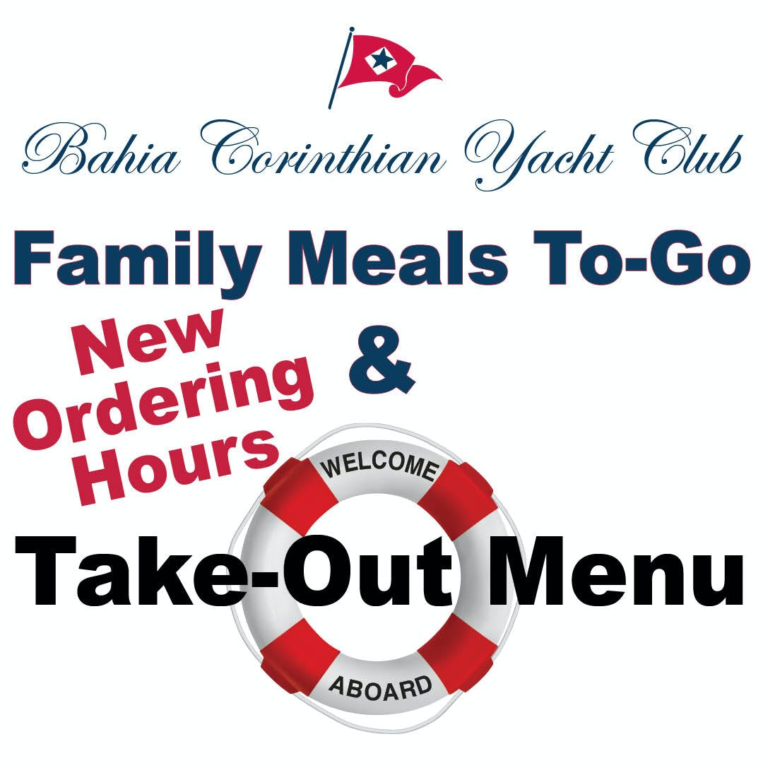New Take Out Menu