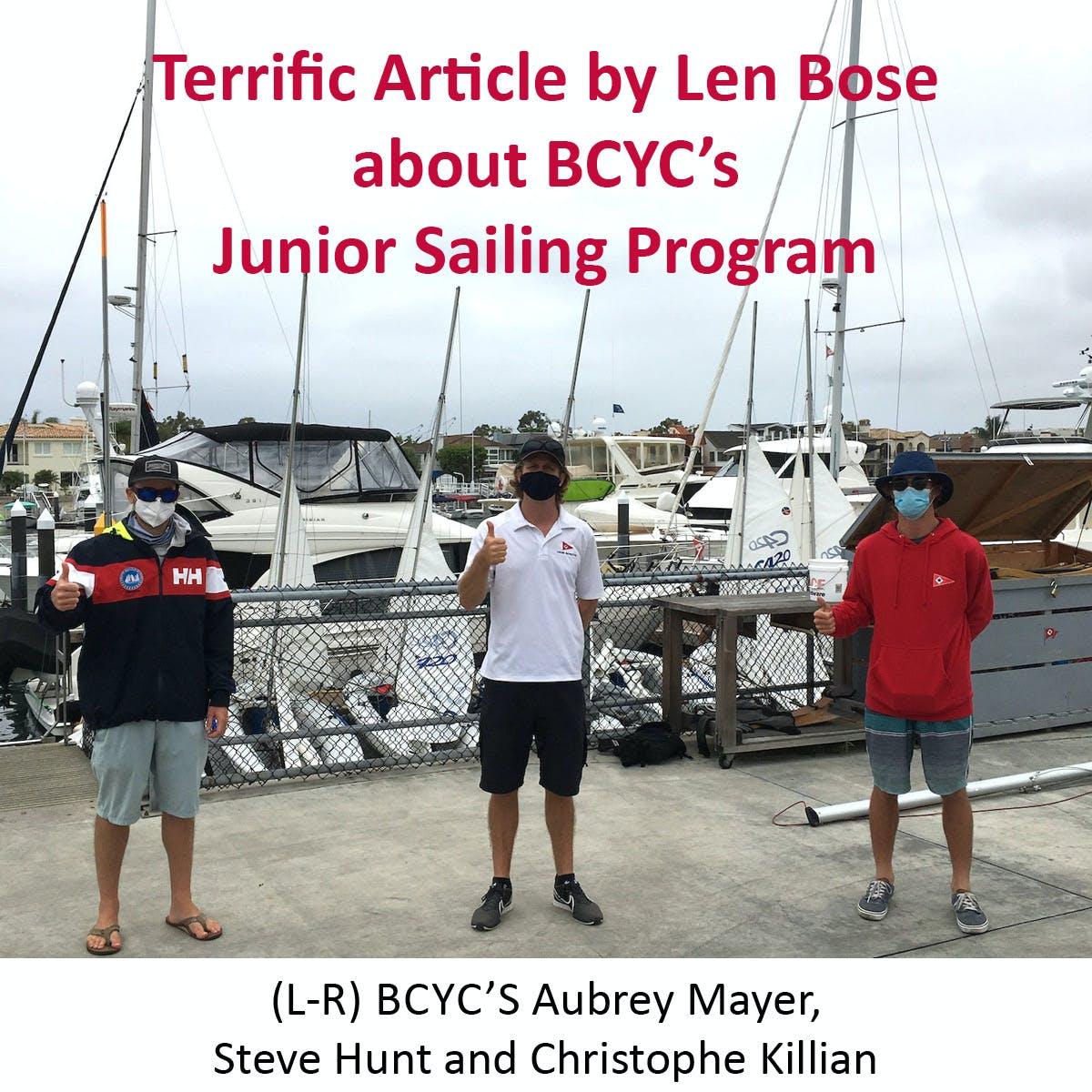Jr. Sailing Dream Team