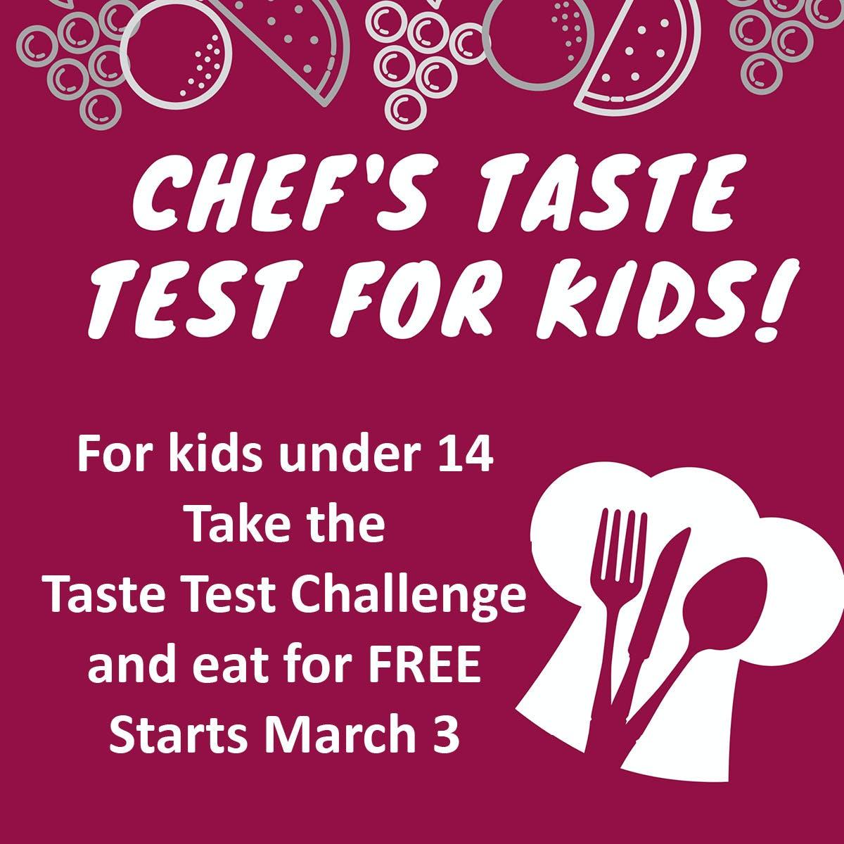 Taste Test Challenge